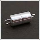 Magnetverschlüsse Silber poliert