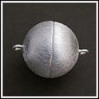 Magnetverschlüsse Silber matt
