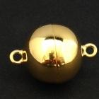 Magnetverschlüsse Silber vergoldet poliert