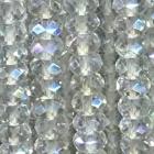 facettierte Linsen Bergkristall bedampft ca. 40 cm