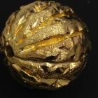 B18 Silber vergoldet matt