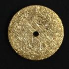 D1 Silber vergoldet matt